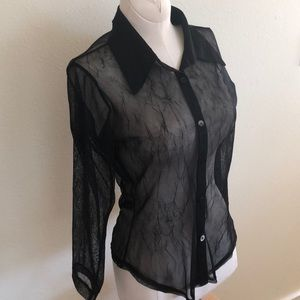 Sheer Arden B blouse